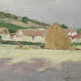 Scene at Giverny, 1890 - Theodore Robinson