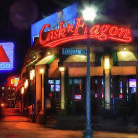Joann Vitali - Scenes Around Fenway - Cask n Flagon - Boston