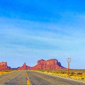Barbara Zahno - Scenic Highway to Monument Valley