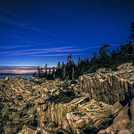 Marty Saccone - Schoodic Point at Acadia National Park
