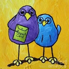 LimbBirds Whimsical Birds - School