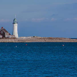 Brian MacLean - Scituate Lighthouse from across the Harbor