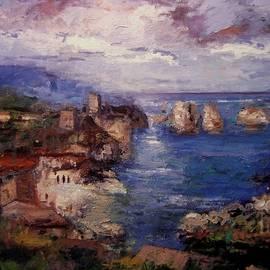 R W Goetting - Scopello in Sicily IV