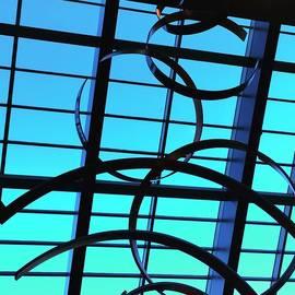 Tamara Lee Madden - Sculpture against window