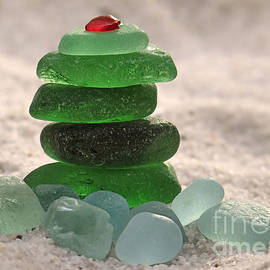 Janice Drew - Sea Glass Tree