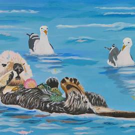 Phyllis Kaltenbach - Sea Otter and Guardians