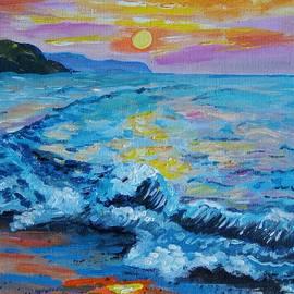Bozena Zajiczek-Panus - Sea sunset