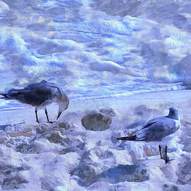 Theresa Campbell - Seagulls In The Sand