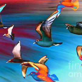 Seagulls - Photodream Art