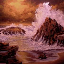 John Cocoris - Seascape Sunset