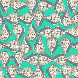Gaspar Avila - Seashells pattern