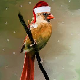 Tina  LeCour - Seasons Greetings Cardinal
