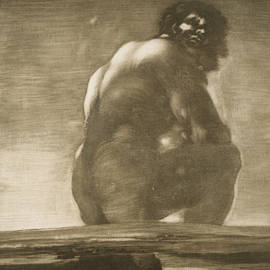 Francisco Goya - Seated Giant