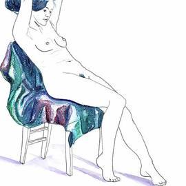 D Renee Wilson - Seated Woman