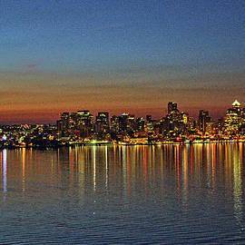 John Dauer - Seattle Skyline