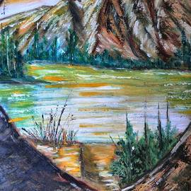 Janice Robertson - Seclusion On The River