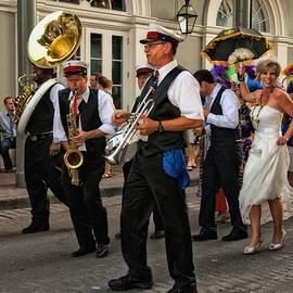 Kathleen K Parker - Second Line Wedding on Bourbon Street New Orleans