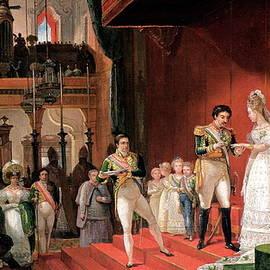 Second Marriage - Jean-Baptiste Debret