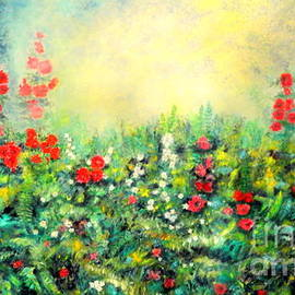 Dagmar Helbig - Secret Garden 2 - 150x90 Cm