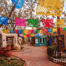 Silvio Ligutti - Secret Passageway at Old Town Albuquerque II - New Mexico