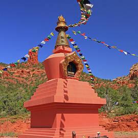 Allen Beatty - Sedona # 20 - Amitabha Stupa and Peace Park