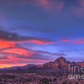 Eddie Yerkish - Sedona Sunset