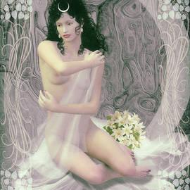Joaquin Abella - Selene the moon goddess