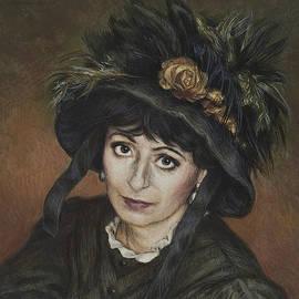 Yvonne Wright - Self-Portrait a la Camille Claudel