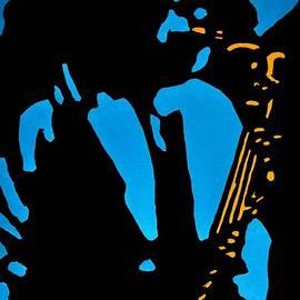 Steve Walmsley - Self portrait with Sax