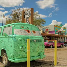 Darrell Foster - Seligman VW bus