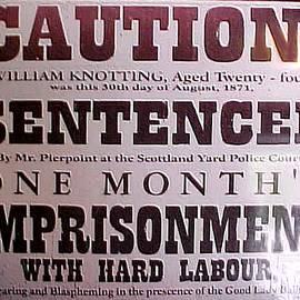 Jacquie King - Sentencing Notice
