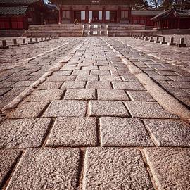 Joan Carroll - Seoul South Korea Palace