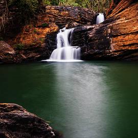 Vishwanath Bhat - Serene waterfalls
