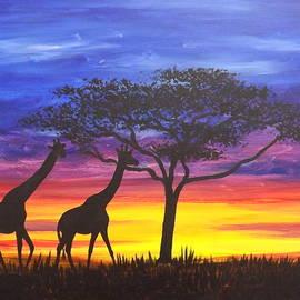 Darren Robinson - Serengeti Sunset