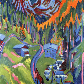 Sertig Path in Summer - Ernst Ludwig Kirchner