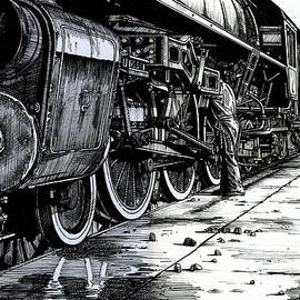 Andrew Leck - Servicing Engine No.620