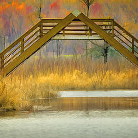 LeeAnn McLaneGoetz McLaneGoetzStudioLLCcom - Seven Ponds A Frame Bridge