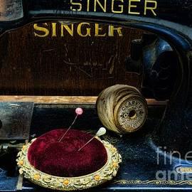 Paul Ward - Sewing - Victorian Pin Cushion - Singer Sewing Machine