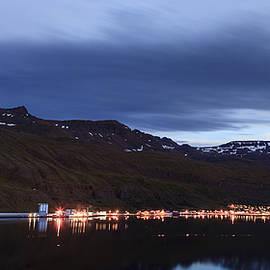 Alexey Stiop - Seydisfjordur in Iceland at night