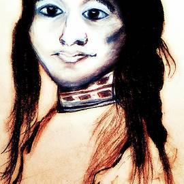 Ayasha Loya Aka Pari  Dominic - Sha Wen Ne Gun. 1857. Ojibwe
