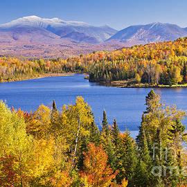 Alan L Graham - Shadow Lake Autumn