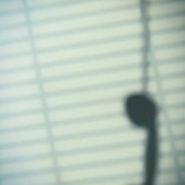 Shadow Of Hanging Phone Receiver - Amanda Elwell