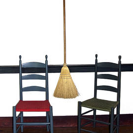 Sally Weigand - Shaker Chairs and Broom