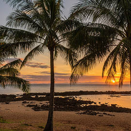 Brian Harig - Sharks Cove Sunset 4 - Oahu Hawaii