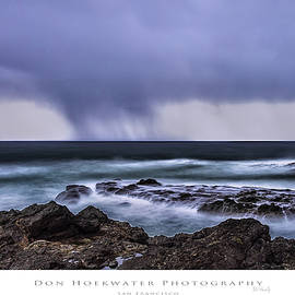PhotoWorks By Don Hoekwater - Shelter Cove Storm Clouds