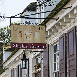 Teresa Mucha - Shields Tavern Sign