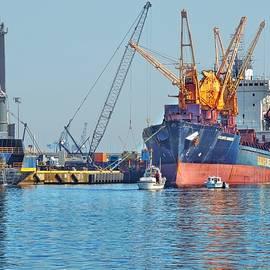 Doug Swanson - Ships and Cranes