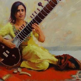 Snehal Page - Shivranjani - Sitar player