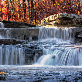 Carolyn Derstine - Shohola Falls in the Poconos