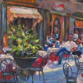 Brenda Brannon - Shopping in Cortona